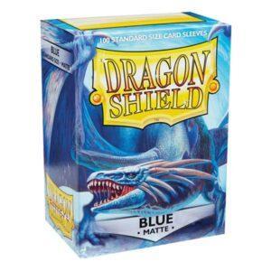 100 DRAGON SHIELD MATTE - BLUE