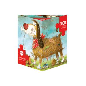 PUZZLE HEYE - M. DEGANO : La vie de chien - 1000 pièces