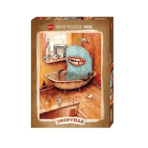 PUZZLE HEYE - M. DINEEN : La baignoire - 1000 pièces