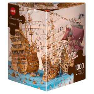 PUZZLE HEYE - F. RUYER : Corsaires - 1000 pièces