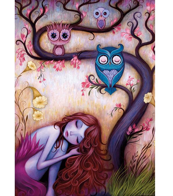 PUZZLE HEYE - J. KETNER : L'arbre à souhaits - 1000 pièces