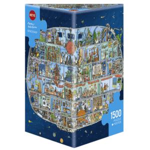 PUZZLE HEYE - M. ADOLFSSON : Vaisseau spatial - 1500 pièces