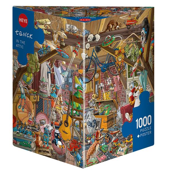 PUZZLE HEYE - B. TANCK : Dans le grenier - 1000 pièces