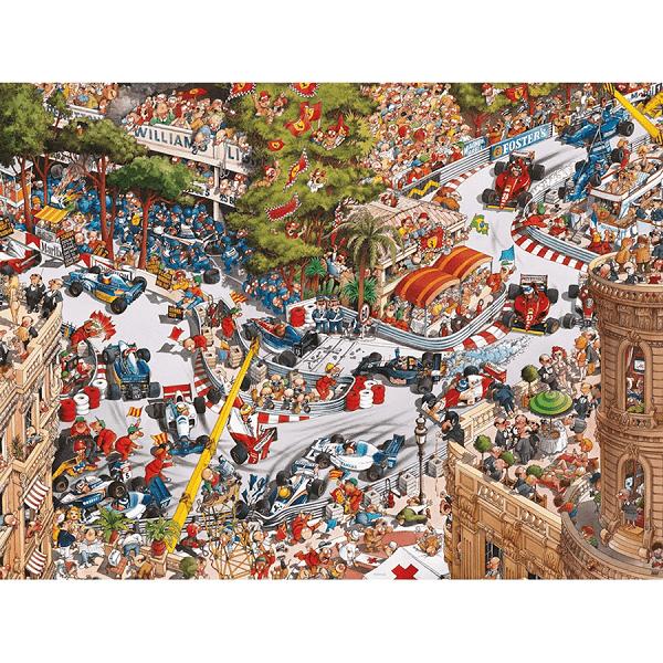 PUZZLE HEYE - J. J. LOUP : Monaco Classics - 1500 pièces