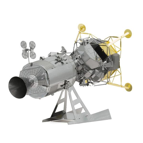 METAL EARTH - ESPACE - MODULE DE COMMANDE ET DE SERVICE + MODULE LUNAIRE APOLLO