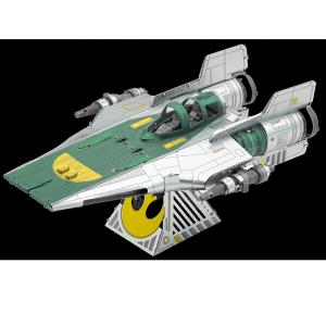 Metal Earth Star Wars – A-Wing de la Resistance – Maquette 3D en métal