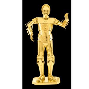 Metal Earth Star Wars – C-3PO – Maquette 3D en métal