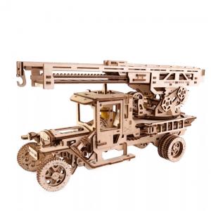 Camion Echelle Ugears – Puzzle 3d en bois