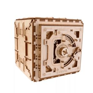 Coffre au Trésor Ugears – Puzzle 3D en bois