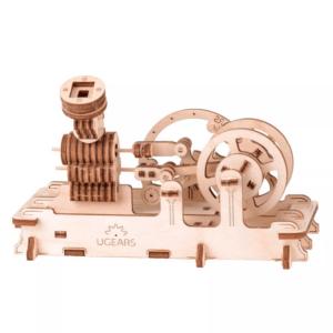 Moteur Pneumatique Ugears – Puzzle 3d Mécanique en bois
