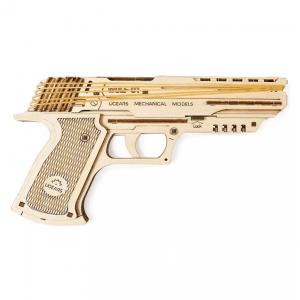 Pistolet Wolf-01 Ugears – Puzzle 3D en bois
