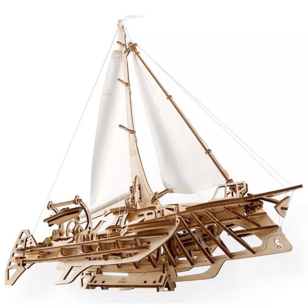 Trimaran Mérihobus Ugears – Puzzle 3d en bois