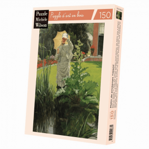PUZZLE BOIS WILSON - J. TISSOT : Matin de printemps - 150 pièces
