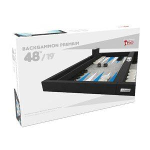 backgammon-premium-48-cm-exterieur-noir-et-interieur-bleu-blanc