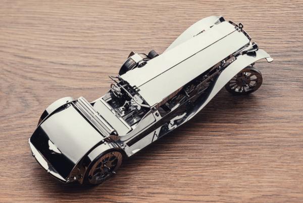TIME FOR MACHINE - GLORIOUS CABRIO 2 - Maquette métal 100+ pièces