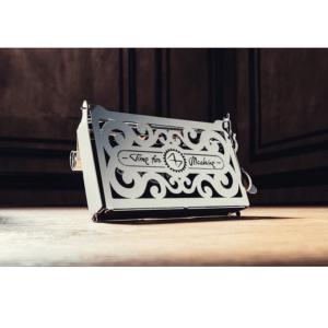 TIME FOR MACHINE - PERFECTO CARD CASE - Maquette mécanique en métal 10 pièces