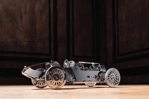 TIME FOR MACHINE - SILVER BULLET - Modèle mécanique en métal 92 pièces