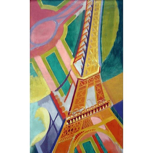 PUZZLE BOIS WILSON - R. DELAUNAY : Tour Eiffel - 150 pièces
