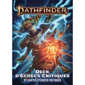 PATHFINDER 2 - DECK D'ECHECS CRITIQUES