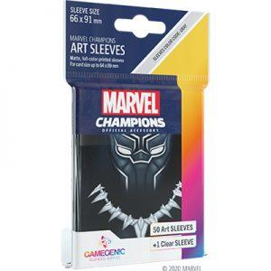 GG - 50 SLEEVES MARVEL CHAMPIONS BLACK PANTHER