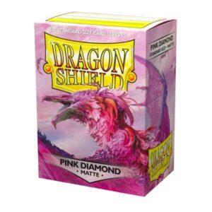 100 DRAGON SHIELD MATTE - PINK DIAMOND