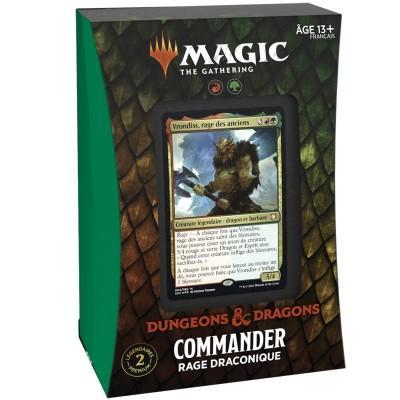 Commander - Rage Draconique