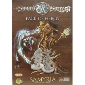 Sword & Sorcery pack de héros Samyria