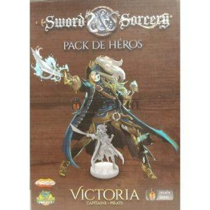 Sword & Sorcery pack de héros Victoria