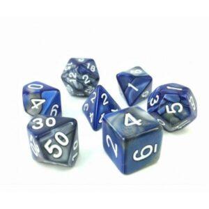 hdb-11-lot-de-7-des-fusion-bleu-et-argent