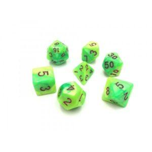 hdb-27-lot-de-7-des-fusion-vert-et-jaune-chiffres-violets