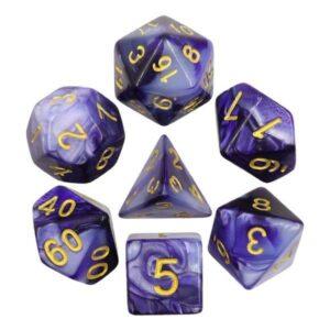 hdb-36-lot-de-7-des-fusion-violet-sombre-et-blanc